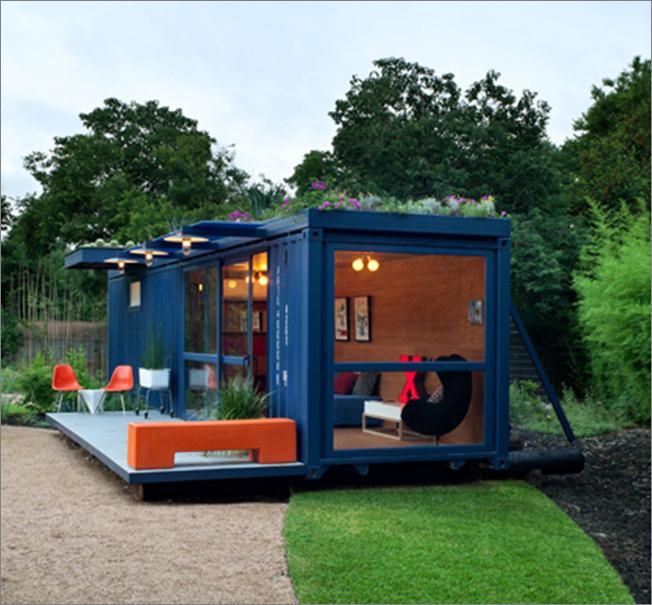 Casas container for Container en