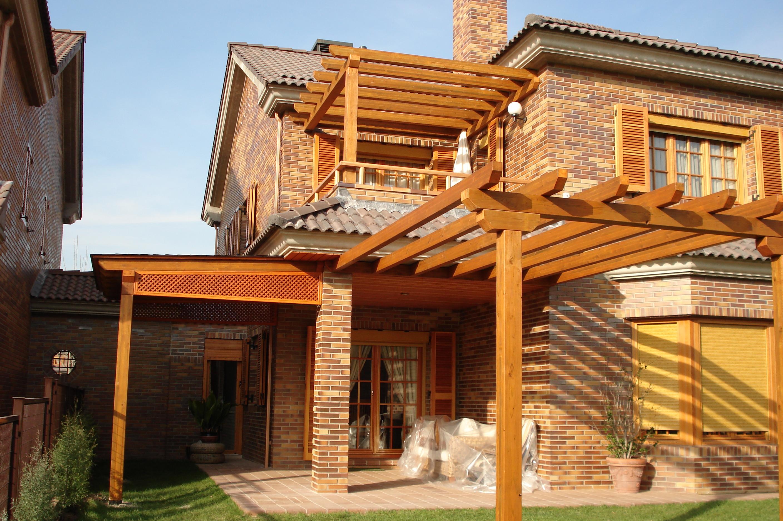 P rgolas de madera - Construccion de pergolas de madera ...