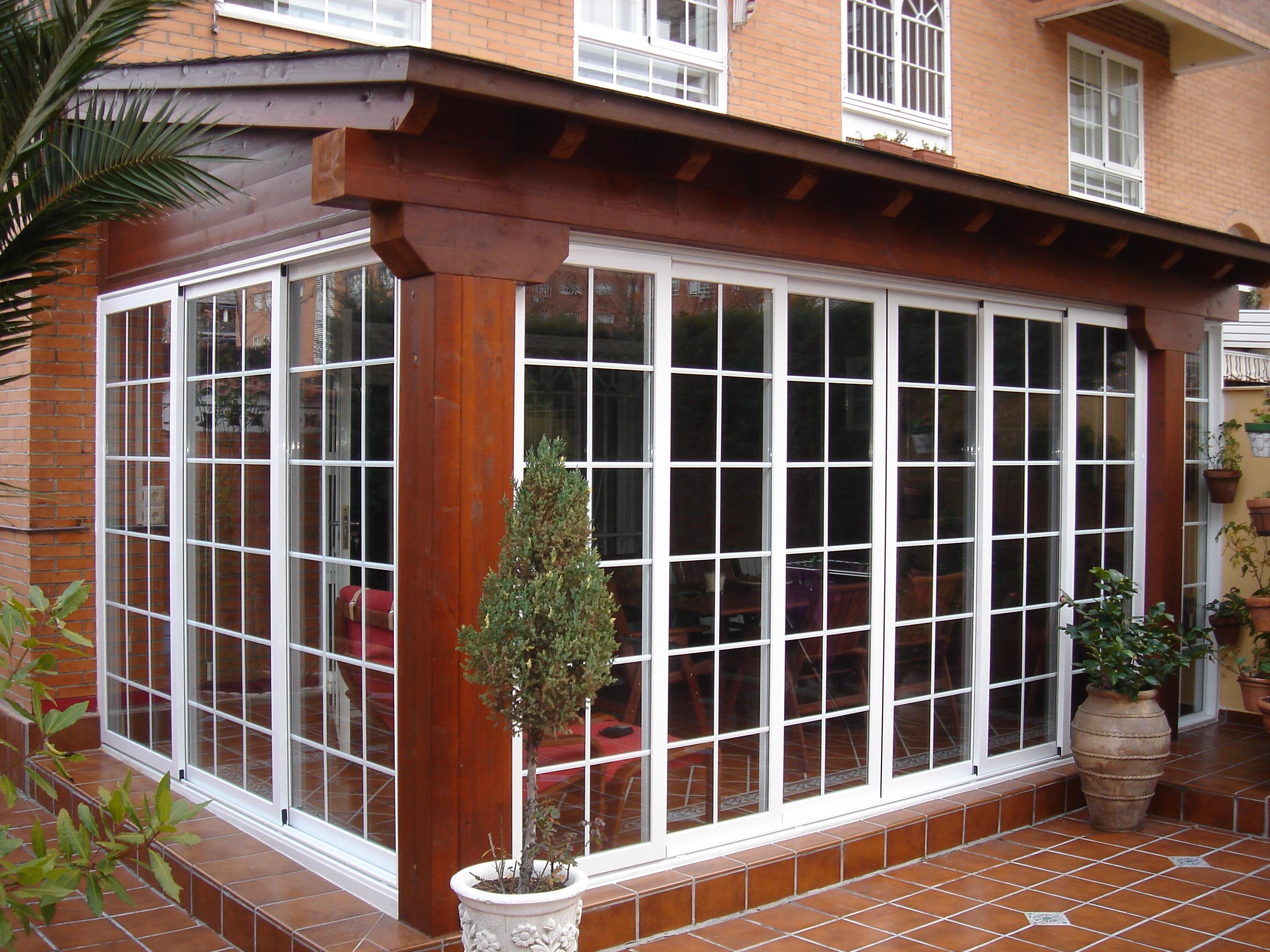 Cerramientos de terrazas for Cubiertas acristaladas