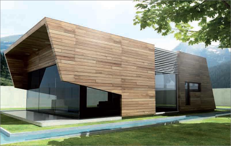 Casas de dise o de madera - Diseno de casas de madera ...