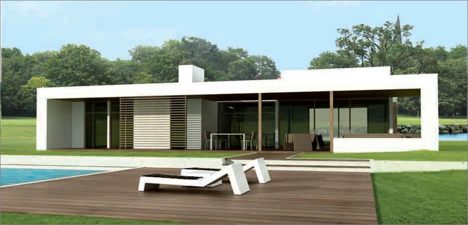 Casas de dise o de madera - Casas prefabricadas de diseno en espana ...
