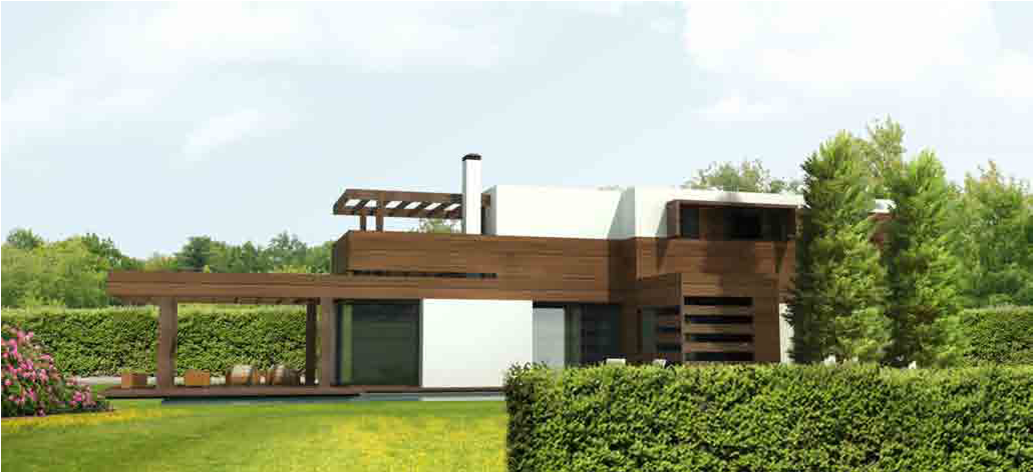 Casas de dise o de madera - Diseno casa de madera ...