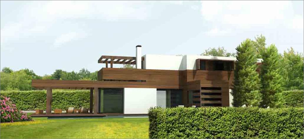 casas de diseo de madera