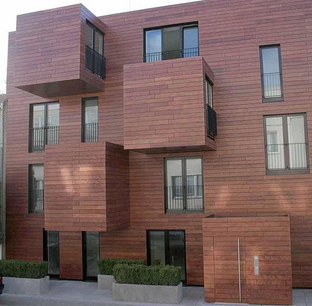Pavimentos y revestimientos de madera - Revestimientos de exteriores ...