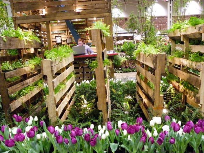 fotos de jardins urbanos:Pallet Garden Ideas